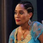 "BLACK-ISH - ""Everybody Blames Raymond"" - Halloween is around the corner and the Johnsons are definitely not seeing eye-to-eye on the family costume. The only thing they do agree on is that Jack's new friend Raymond has got to go. Meanwhile, Junior wants Devante's first trick-or-treating experience to be perfect on ""black-ish,"" TUESDAY, OCT. 29 (9:30-10:00 p.m. EDT), on ABC. (ABC/Mitch Haaseth) TRACEE ELLIS ROSS"
