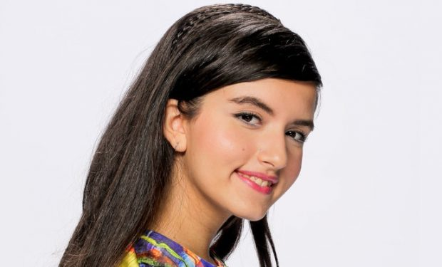 AMERICA'S GOT TALENT: THE CHAMPIONS -- Season: 2 -- Pictured: Angelina Jordan -- (Photo by: Chris Haston/NBC))