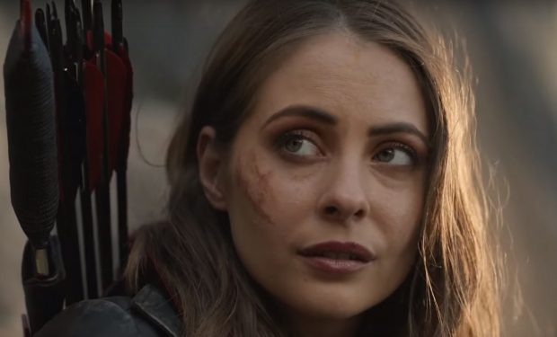 Willa Holland, Arrow, CW screengrab