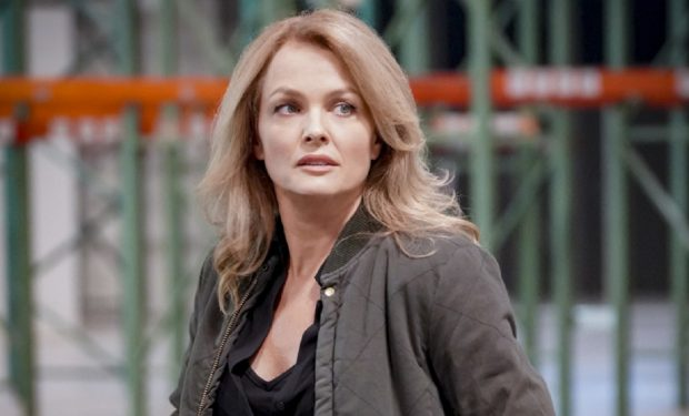 """Groundwork"" - Pictured: Dina Meyer (CIA Officer Veronica Stephens). CIA Officer Veronica Stephens (Dina Meyer) asks the NCIS team for help when an agricultural engineer Hetty asked her to bring to the United States disappears, on NCIS: LOS ANGELES, Sunday, Jan. 5 (9:00-10:00 PM, ET/PT) on the CBS Television Network. Photo: Bill Inoshita/CBS ©2019 CBS Broadcasting, Inc. All Rights Reserved."