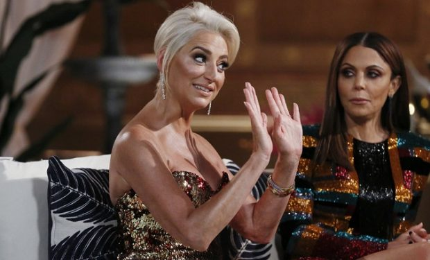 """THE REAL HOUSEWIVES OF NEW YORK CITY -- """"Reunion"""" -- Pictured: (l-r) Dorinda Medley, Bethenny Frankel -- (Photo by: Heidi Gutman/Bravo)"""