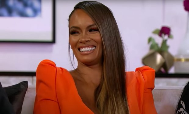 Evelyn at Basketball Wives Season 8 reunion VH1