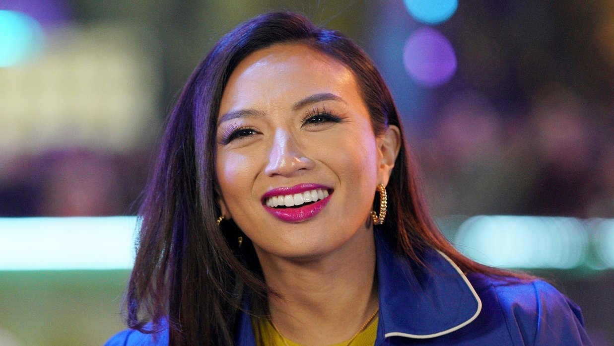 """Jeannie Mai Flaunts Curves In Tiny Cut-Out Bikini, """"If You Only Knew"""""""