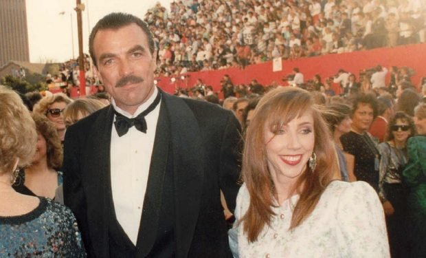 Tom Selleck with wife