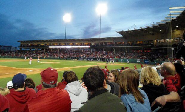 Arkansas baseball stadium