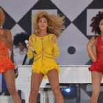 Beyonce and dancers