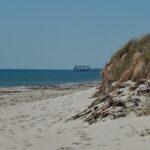 Australian beach jetty