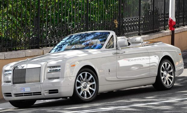 Rolls Royce Phantom Convertible
