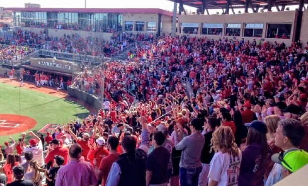 Texas Tech baseball field