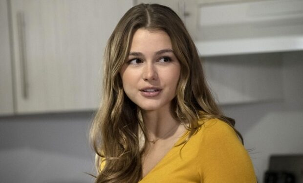 "Celeste Desjardins in the new TV movie ""Obsession: Stalked by My Lover"" on Lifetime.(Albert Camicioli / Lifetime)"