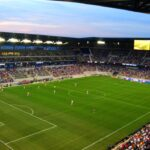 MLS soccer field, Red Bulls