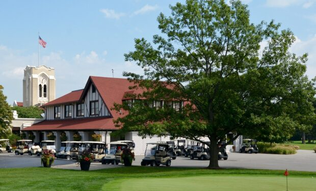 Olympia Fields Golf Course Clubhouse