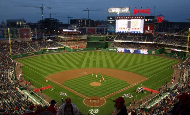 Washington Nationals baseball field