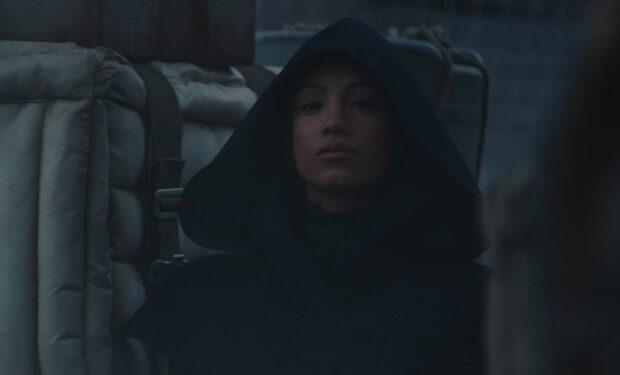 Sasha Banks in THE MANDALORIAN, season 2, photo: Lucasfilm Ltd. & TM