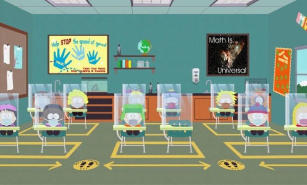 South Park, The Pandemic Special, Comedy Central