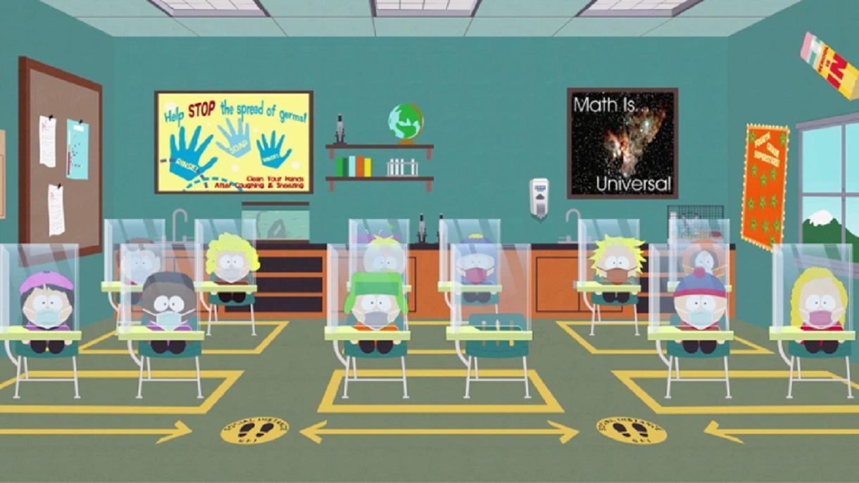 """'South Park' Kids Return To School In Pandemic, """"Perfect Antidote To 2020"""""""