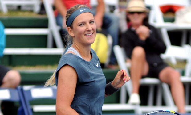 Azarenka blows Mertens away, will meet Serena in semifinals
