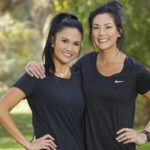 Michelle and Victoria on The Amazing Race CBS