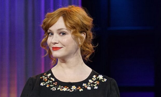Christina Hendricks on A Little Late With Lilly Singh