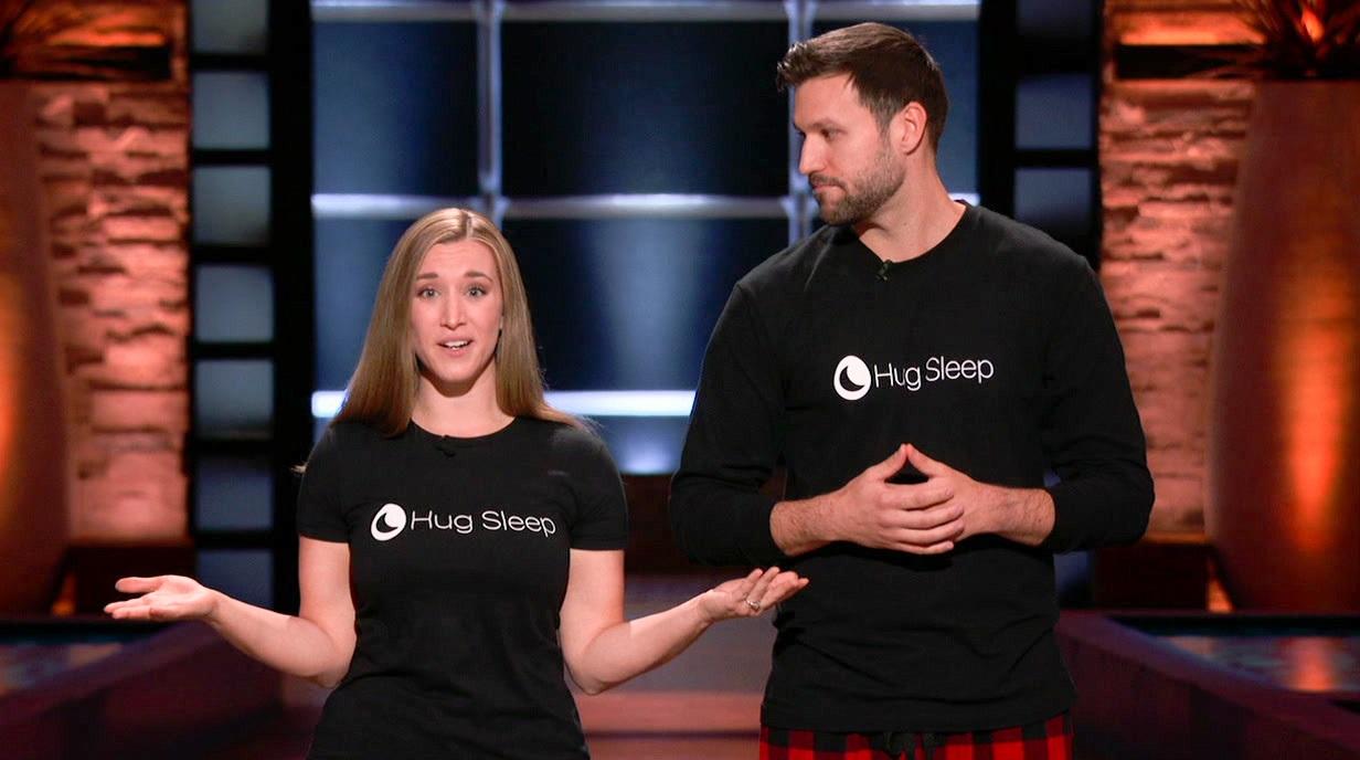 Hug Sleep: Sleep Pod Gets Into Bed With Robert Herjavec on 'Shark Tank'