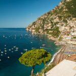 Italian beach Amalfi coast