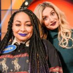 Raven-Symone and Annaliese van der Pol on Celebrity Family Feud
