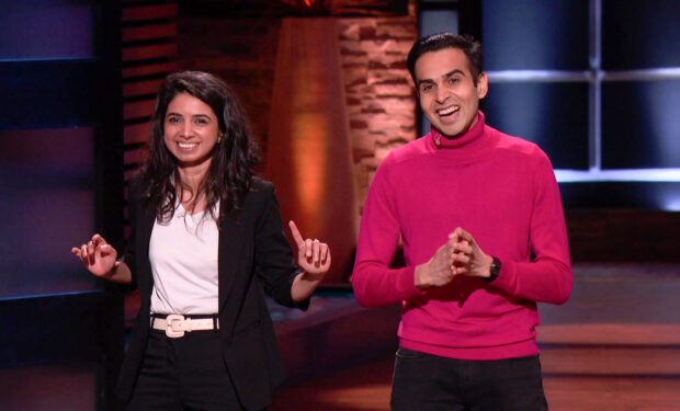 Moment on Shark Tank