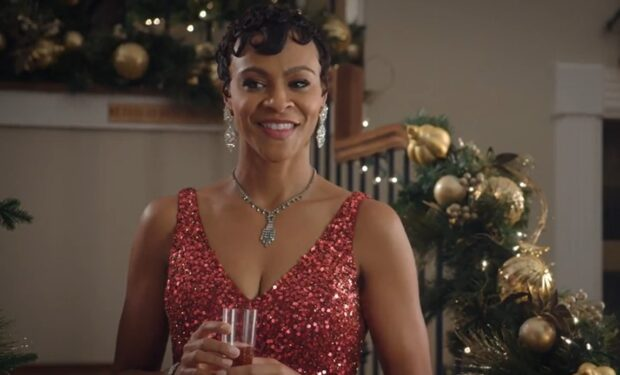 Carly Hughes in 'The Christmas Edition' (Lifetime)