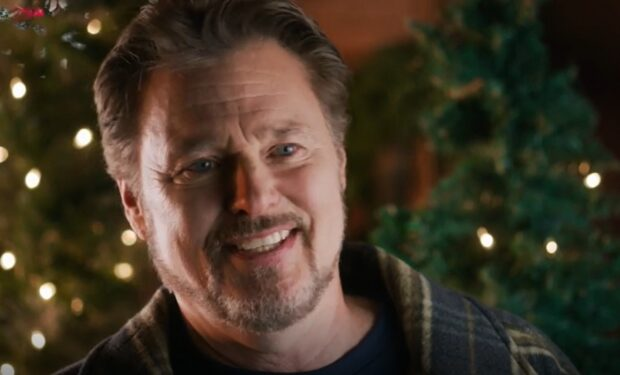 Greg Evigan in The Christmas Listing (Lifetime/Nicely)