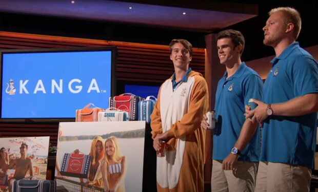 Kanga on Shark Tank