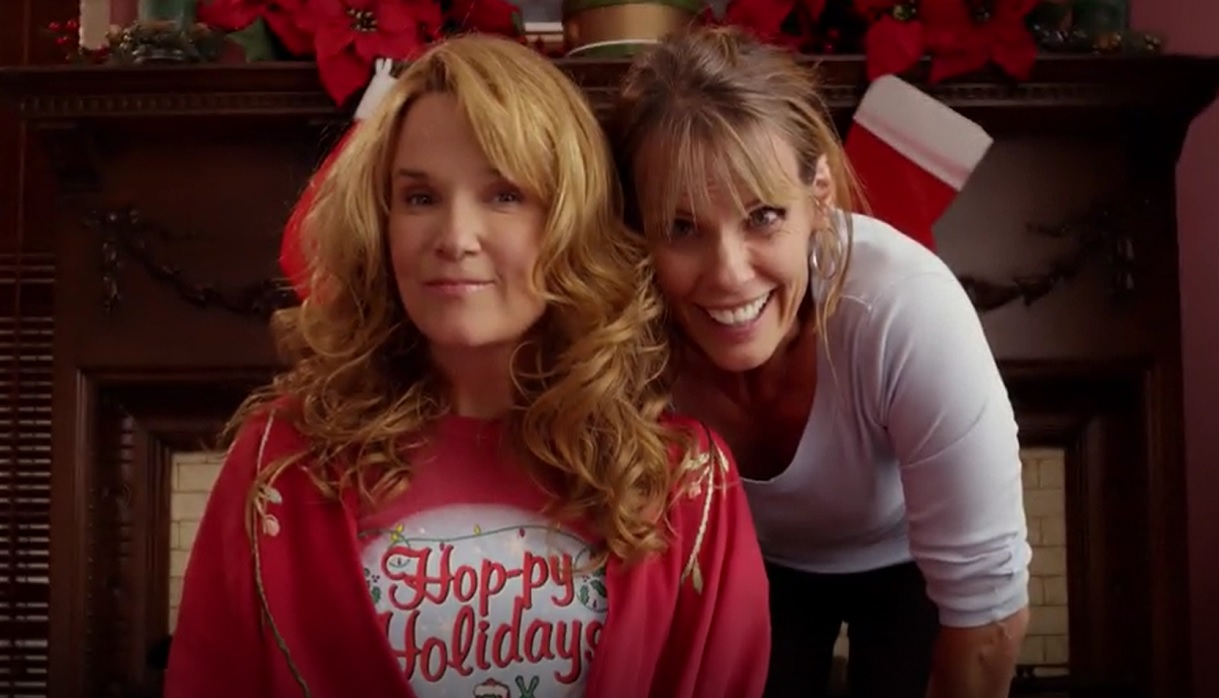 Who Is Sam's Mom Eve in 'Love at the Christmas Table'?