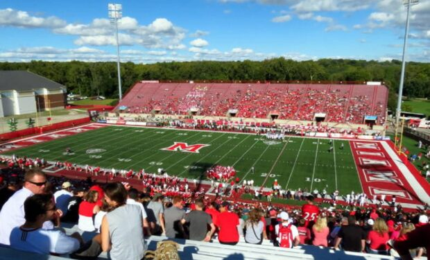 Miami Ohio RedHawks Yager Stadium Football