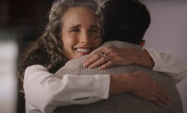 Andie MacDowell Dashing in December (Paramount Network screengrab)