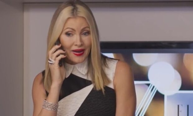 Caprice Bourret Christmas at the Castle