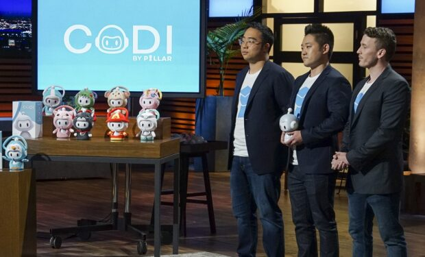 Codi on Shark Tank