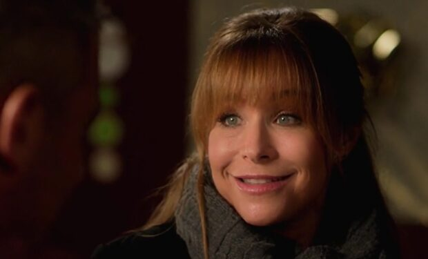 Jamie Luner in Christmas Lifetime movie