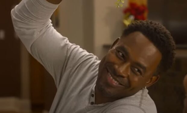 Lamman Rucker in Cooking Up Christmas (OWN)