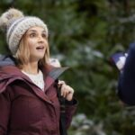 Rachael Leigh Cook in Cross Country Christmas (hallmark/Crown Media)