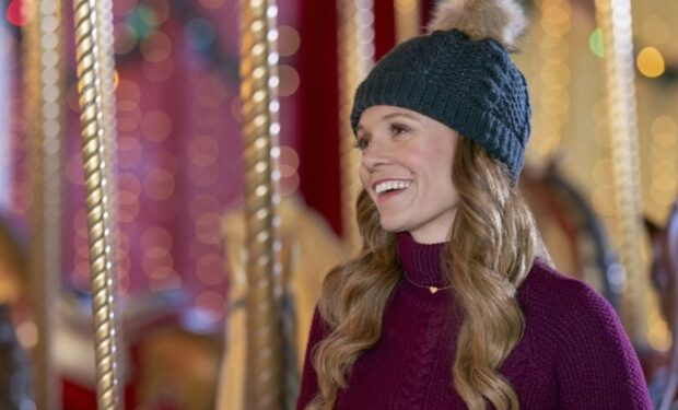 Rachel Boston in A Christmas Carousel (Hallmark/Crown Media)