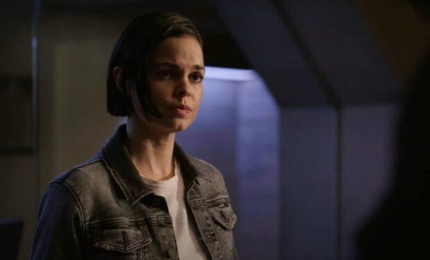 Lina Esco in SWAT Hopeless Sinners (CBS screengrab)
