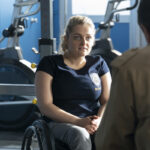 Ali Stroker on Blue Bloods