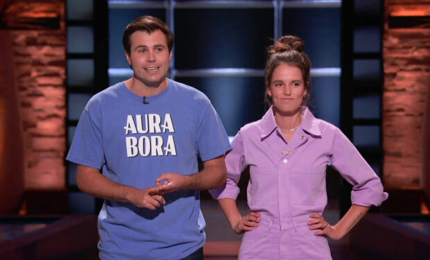 Aura Bora on SHark Tank