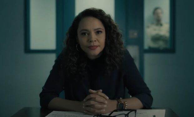 Carmen Ejogo on Your Honor (Showtime screengrab)