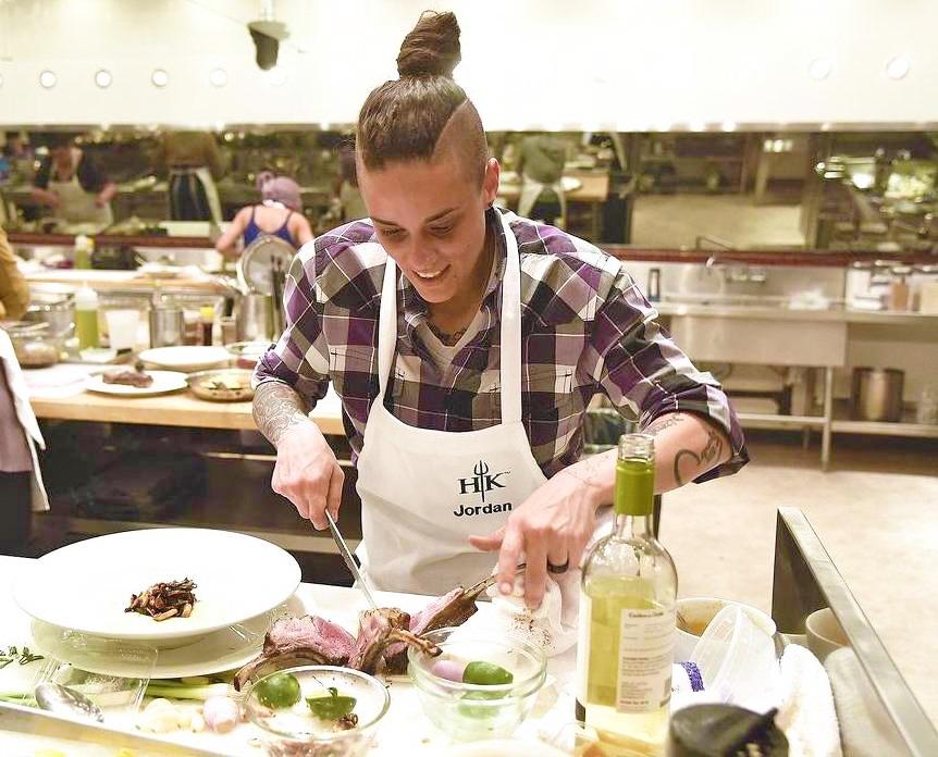 Who Is Mohawk Chef Jordan Savell On Hell S Kitchen Las Vegas Season 19