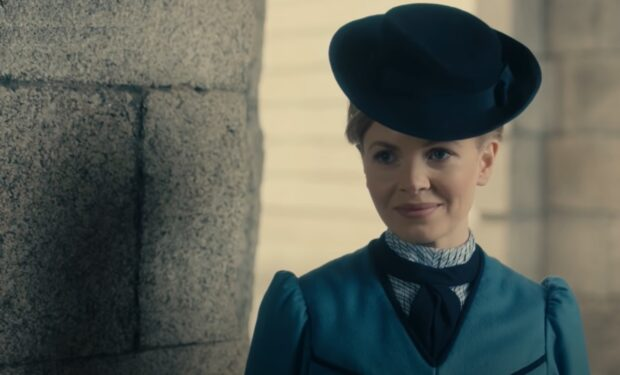 Kate Phillips in Miss Scarlet and the Duke on PBS