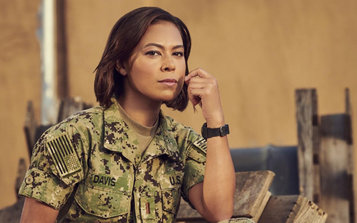 "'SEAL Team' Star Toni Trucks Flaunts Soft Sexy Look, ""Feeling Good"""