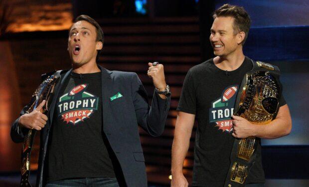 Trophy Smack on Shark Tank