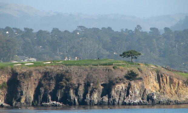 Pebble Beach Links golf course
