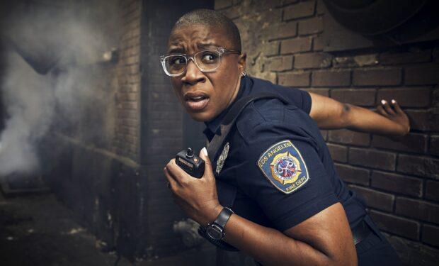 Aisha Hines on 911