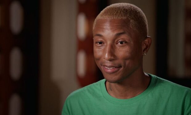 Pharrell Williams on Finding Your Roots (PBS screengrab)